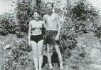 იური ნიკულინი ცოლთან ერთად