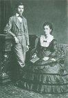 ფროიდი დედასთან, ამალია ნატანსონთან ერთად. 1872 წ