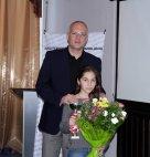 საქართველოს ჩემპიონი 14 წლამდე ასაკის მოზარდთა შორის ჭადრაკში მაია ბეჭვაია