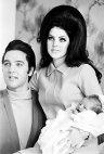 ელვის და პრისცილა პრესლი ლისა მარისთან ერთად 1968 წელი