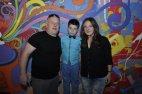ნიკა არაბიძე ოჯახთან ერთად