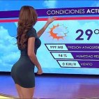რა მნიშვნელობა აქვს როგორი ამინდია მოსალოდნელი როცა ასეთი ქალი გამცნობს ამინდის პროგნოზს