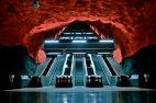 შვედეთში, სტოკჰოლმის მეტრო, მსოფლიოს ულამაზეს მეტროდაა აღიარებული.