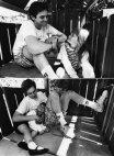 ჯიმ კერი ქალიშვილთან ერთად-1991 წელი