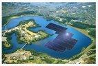 მსოფლიოში ყველაზე დიდი მზის მცურავი ელექტროსადგური