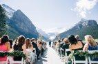 ქორწილი ლუიზის ტბასთან, კანადა