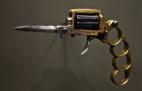 მე-20 საუკუნის დასაწყისში ფრანგი განგსტერების იარაღი, რომელსაც ჰქონდა რევოლვერის, დანისა და კასტეტის