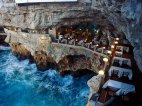 რესტორანი იტალიაში. ისურვებდით ასეთ აგილზე სადილს?