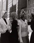 მოდელები ნიუ-ორკში 1952 წელი.