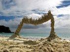საოცარი ქვიშის სკულპტურა, პუერტო-რიკო
