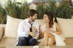 ნინი ონიანი ქმართან ერთად