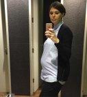 ირინა ონაშვილიც ორსულადაა