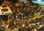 112 ანდაზა ერთ ნახატში, პიტერ ბრეიგელი