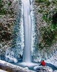 ჩანჩქერი ზამთარში