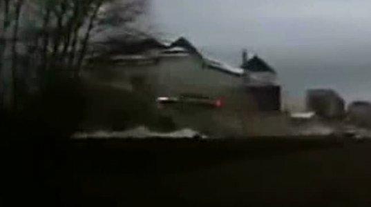 ვიდეოთვალმა ეს შემზარავი კადრი რუსეთში დააფიქსირა