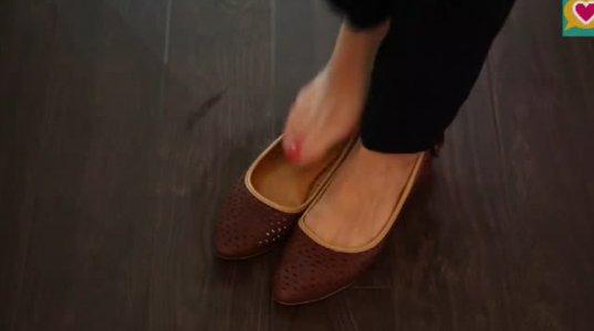 თქვენი საყვარელი ფეხსაცმელი გიჭერთ? - გაზარდეთ მისი ზომა მარტივი ხერხი