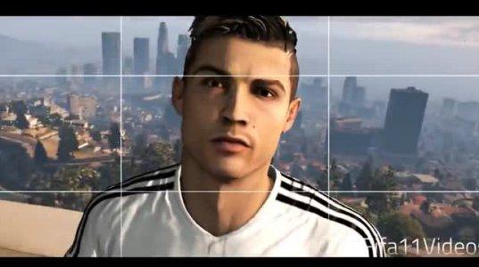 რონალდო GTA V თამაშში