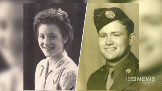 93 წლის ომის ვეტერანმა საყვარელი ქალი 70 წლის შემდეგ იპოვა