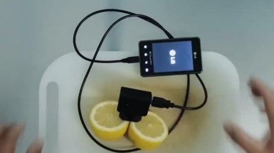 როგორ დავტენოთ ტელეფონი ლიმონის საშუალებით - დაუჯერებელია!