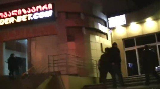 თბილისში ტოტალიზატორის დაცვა მამაკაცს სასტიკად უსწორდება