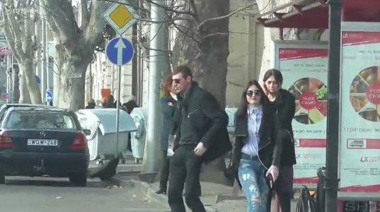 გოგომ ბიჭს თავში წამოარტყა ქუჩაში;ხალხის რექცია