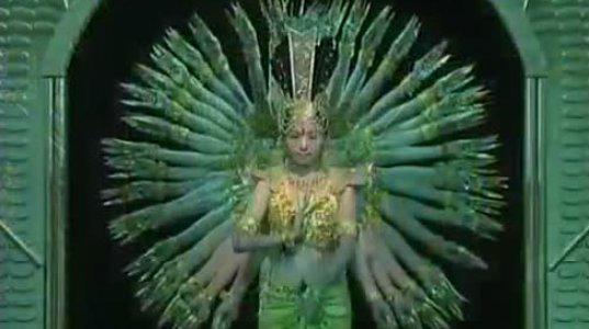 ყრუ-მუნჯთა ცეკვის ანსამბლი. ჩინეთი.
