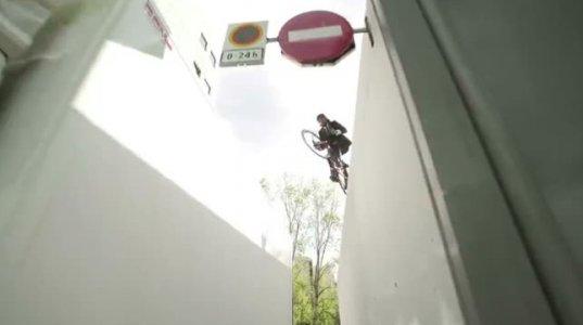 ველოსიპედისტი ბარსელონაში