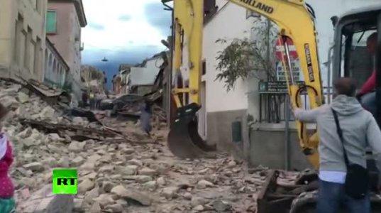 მიწისძვრა იტალიაში 6.1 მაგნიტუდის სიძლიერით