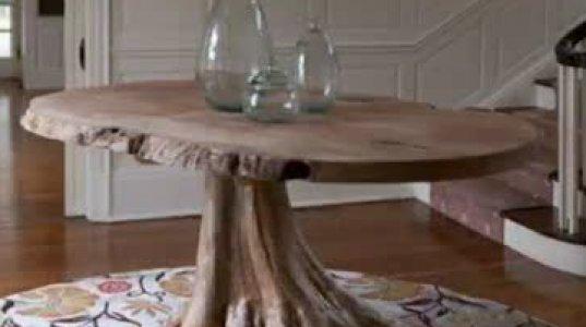 მასიური ხისგან შექმნილი უნიკალური ავეჯი