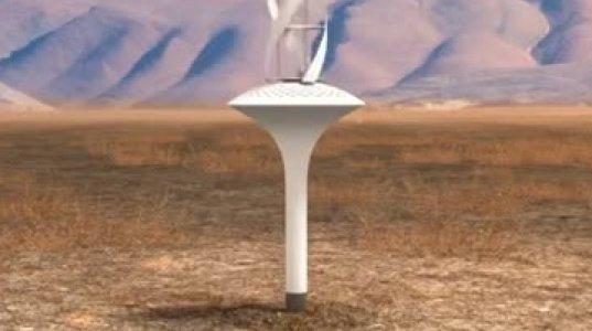 გენიალური გამოგონება-ტურბინა,რომელიც ჰაერისგან წყალს ქმნის