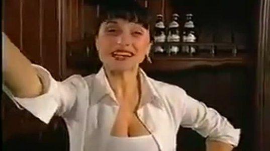 """ლუდი """"ლომისის"""" 90-იანი წლების სექსისტური  რეკლამა"""
