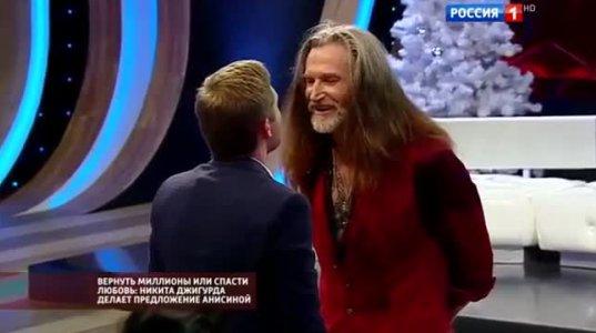 """ჩხუბი პირდაპირ ეთერში გადაცემა """"Прямой эфир""""-ში-რუსეთი"""