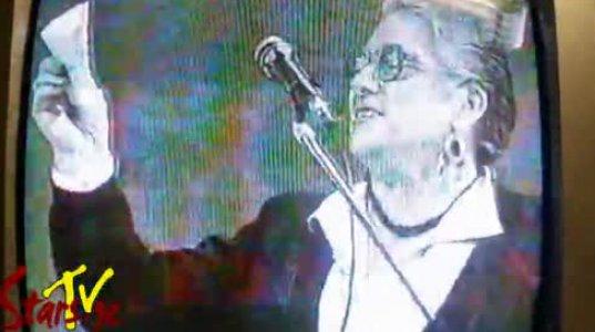"""""""მეგა 2002"""" - ლუიზა შაკიაშვილი აცხადებს ირინა სანიკიძეს"""