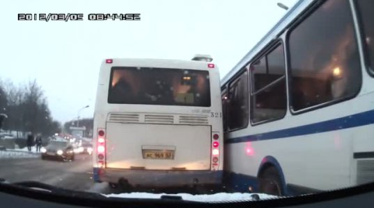 ავტობუსები, რომლებსაც მძღოლებში არ გაუმართლათ