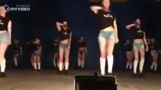 """""""ბომბა"""" გოგოები """"ბომბა"""" ცეკვით"""